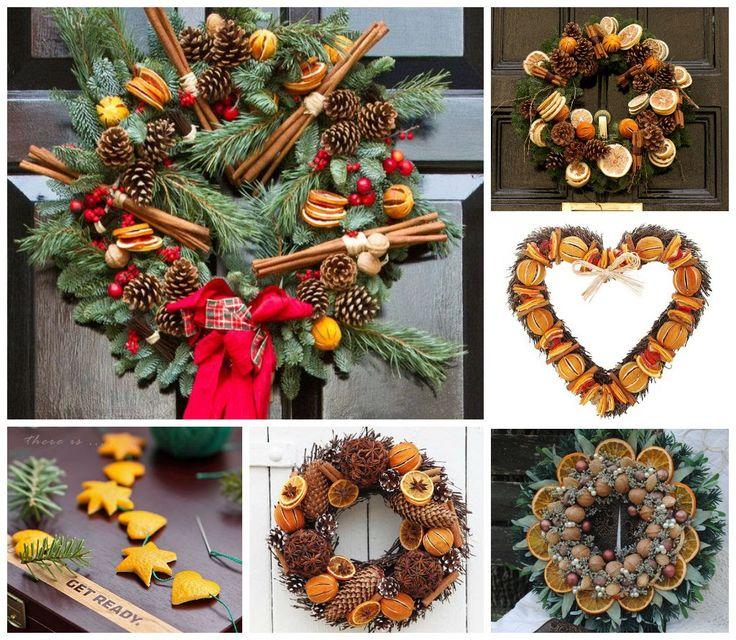 """Милые сердцу штучки: Новогодний декор: """"Рождественские венки из шишек и не только"""" (коллекция и несколько советов)"""