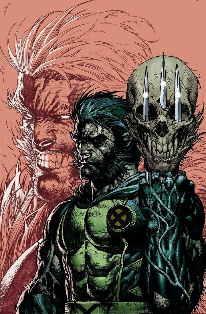 Wolverine & Sabretooth by Stephen Platt