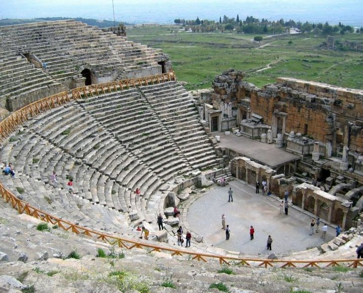 Ephesus -  Marmaris Turkey - you'll never guess who was scheduled to play there right after I visited....Tom Jones!!