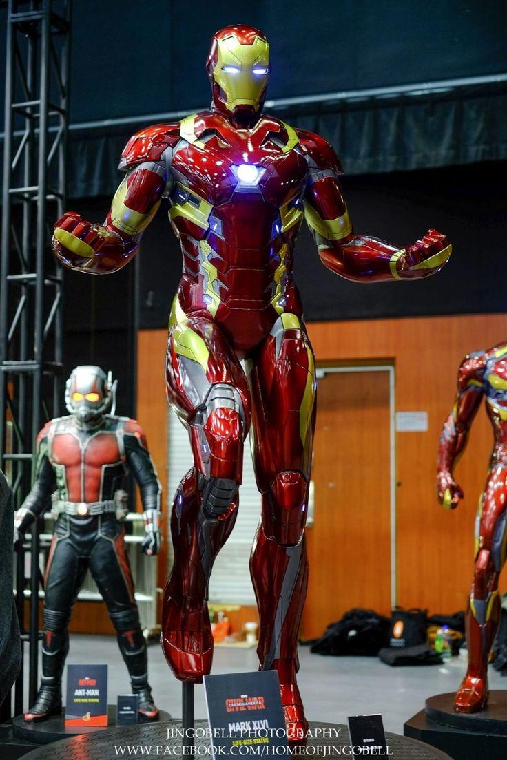 미리보는 핫토이 '캡틴 아메리카 : 시빌 워' 콜렉션 : 네이버 블로그