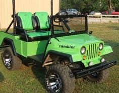 Image result for custom golf cart bodies
