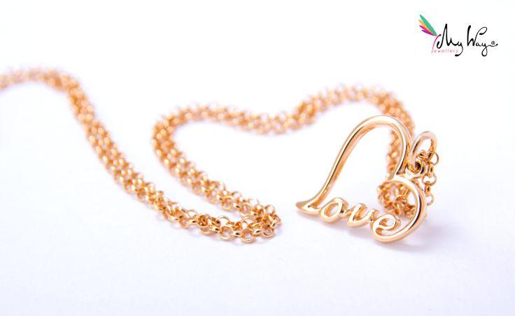 Necklace Lovely Love