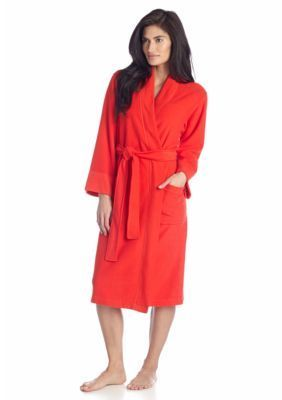 N Natori Cayenne Brushed Terry Robe - PC4016