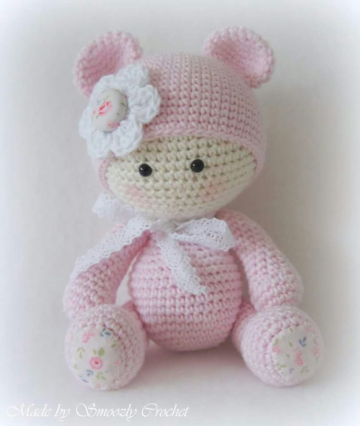 Amigurumi Baby Doll Pattern : Best doll images on pinterest crochet toys