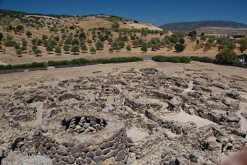 Su Nuraxi is a nuragic archaeological site in Barumini, Sardinia, Italy. It was inscribed on the UNESCO list of World Heritage Sites in 1997 as Su Nuraxi di Barumini.