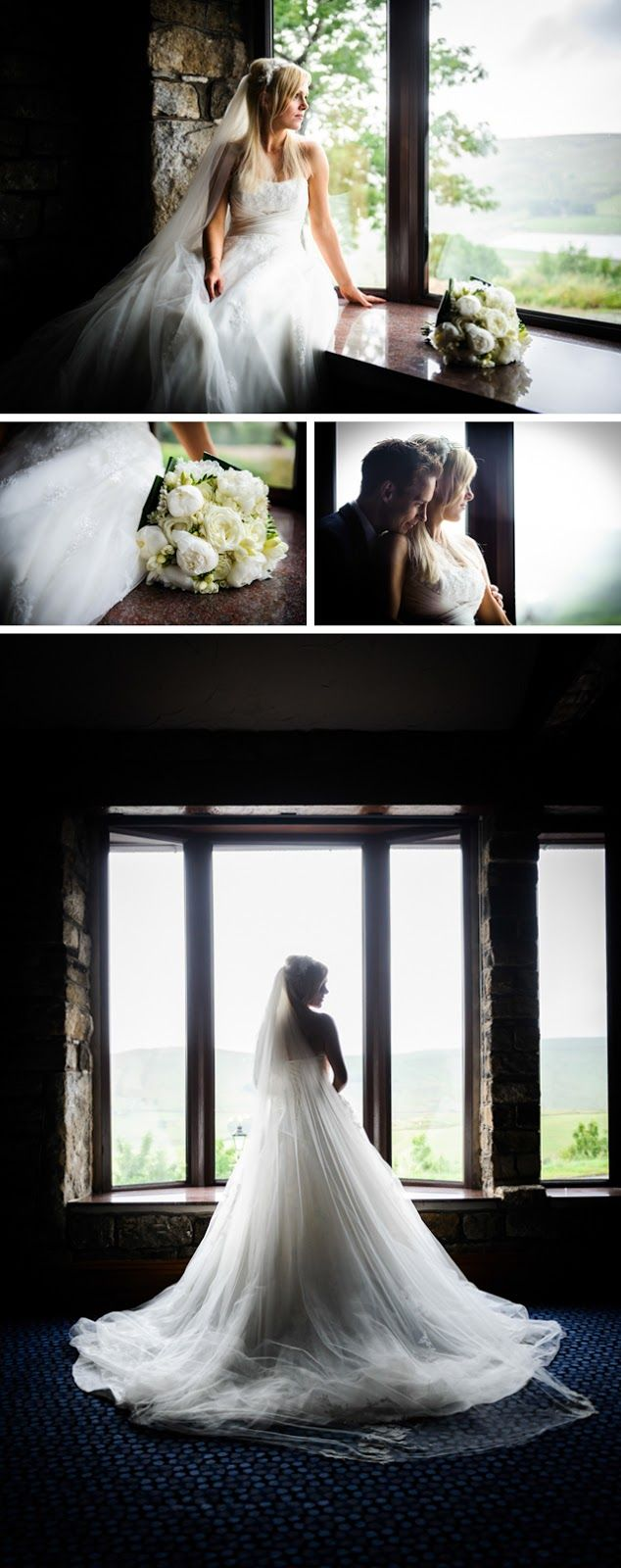 Pixies in the Cellar: Rainy wedding at The Saddleworth Hotel, Delph, West Riding of Yorkshire