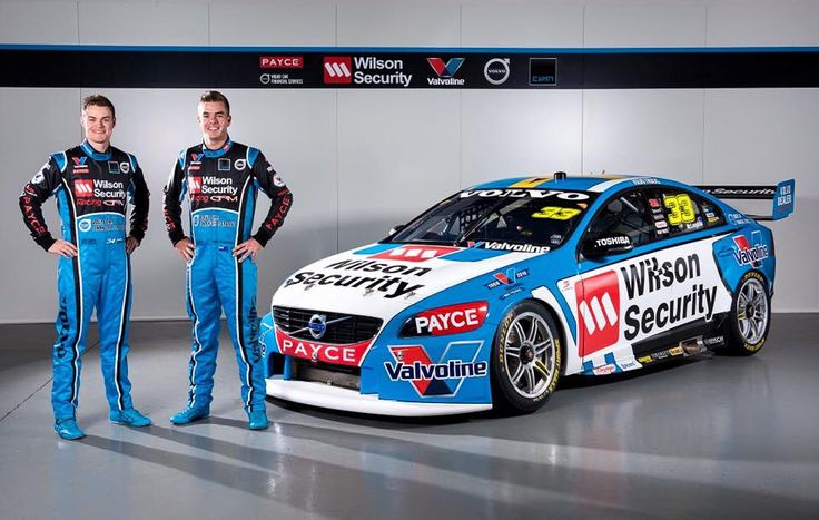 Scott McLaughlin and his New 2016 Volvo V8 Supercar
