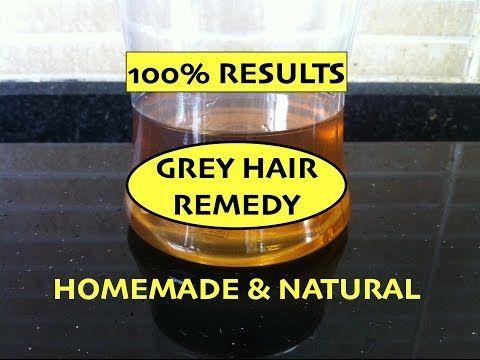 Natural Ways To Darken Gray Hair For Men