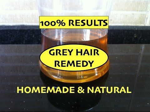 Home Remedy for Grey Hair / Magical Hair Oil / Prevent Premature Greying of Hair / Reverse Grey Hair - YouTube