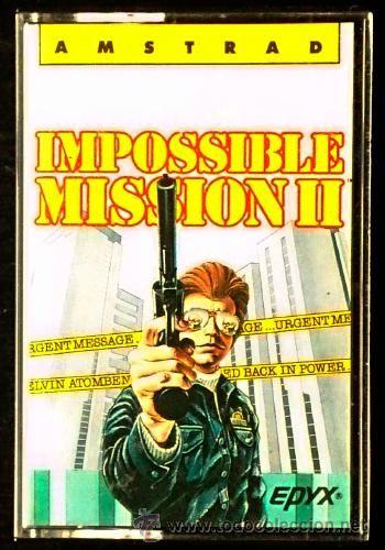 Juego Amstrad CPC Cinta - Impossible Mission II 2 / Mision Imposible II 2 (1987) Español Erbe