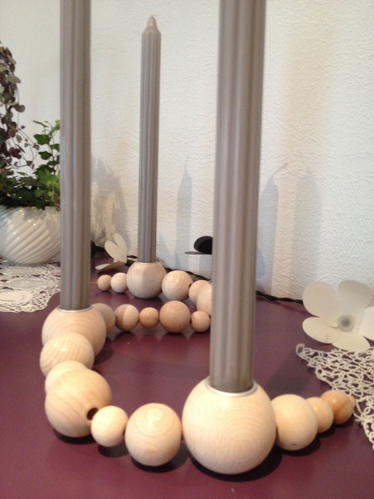 """Made my own """"string"""" from Ferm Living. All you need is Pandurohobby.no"""