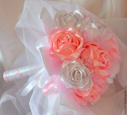 Букет-дублер - розовый,букет-дублер,свадебные аксессуары,украшения ручной работы