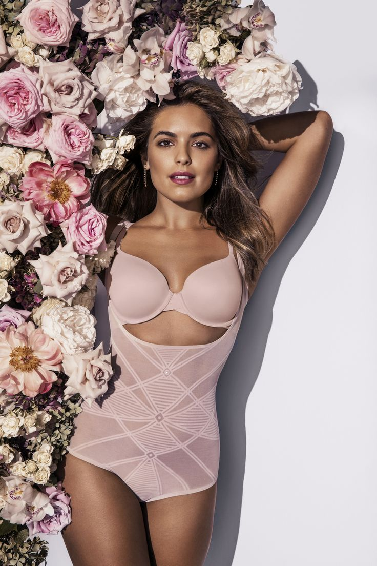 Olympia Valance's Spring Racing secret - Nancy Ganz Sheer Decadence Bodysuit