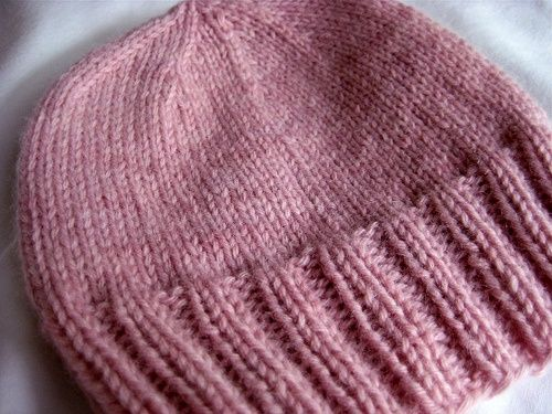 Baby Hat Knitting Pattern Ravelry : basic baby beanie. Knitting Baby Hats & Booties Pinterest Baby gift...