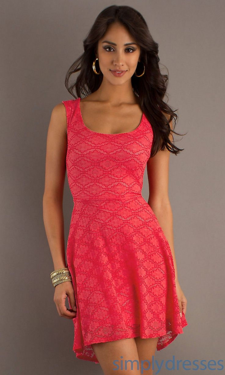 237424211577261911 Cute coral summer dress | My Style | Pinterest ...