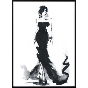 Plakát Nord & Co Lady, 21 x 29 cm
