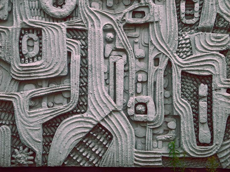 """scavengedluxury: """" Mid-mod mural. Hope Street, Liverpool. Oct 2012. """""""