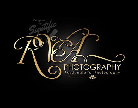 Elegant photography logo  FREE watermark custom by Signtific