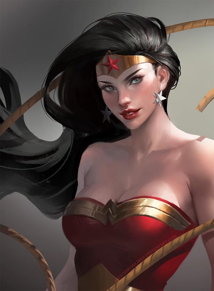 Wonder Woman bySakimichan - Blog - GeekDraw