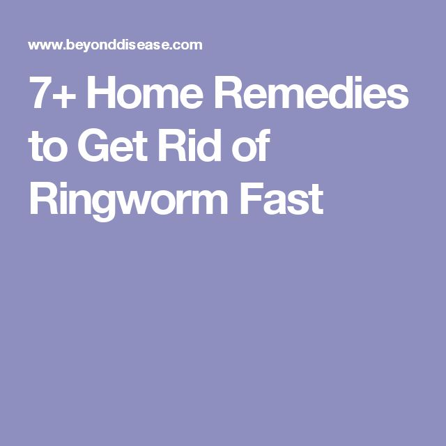 7+ Home Remedies to Get Rid of Ringworm Fast
