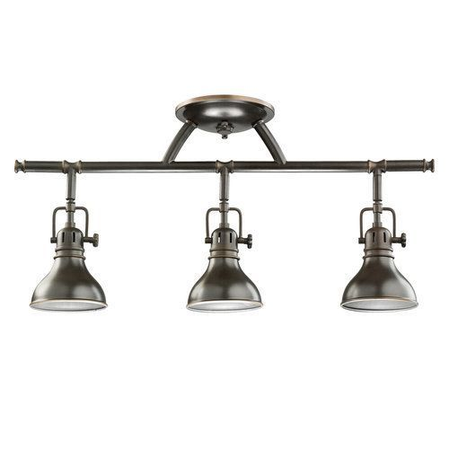 Kichler Hatteras Bay 3 Light 23  Wide Track Lighting Fixture with Fres