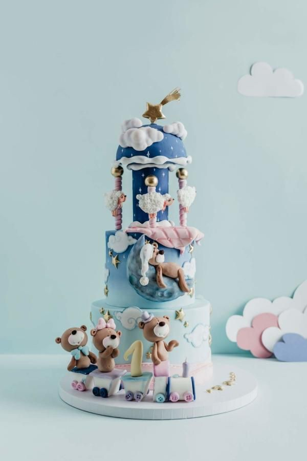 Dreamy carousel cake by Ceca79