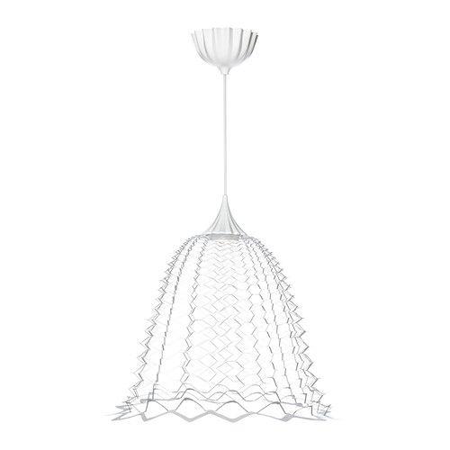 SOLKULLEN Led-plafondlamp IKEA Geeft muren en plafond een decoratief patroon.
