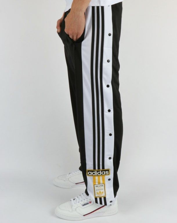 80s~ adidas Track Pants Black | ciatre