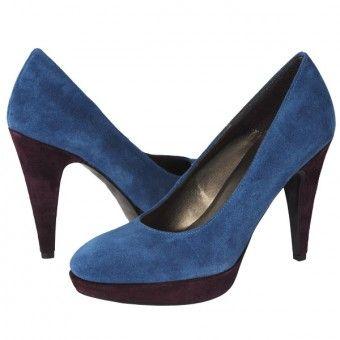 Ghete dama S Oliver albastre