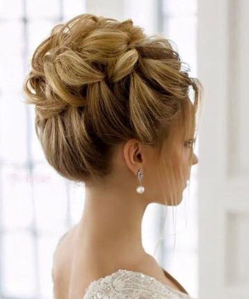 New Stylish Updo Wedding Hairstyles 2017