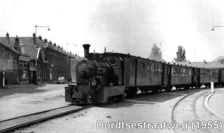 Dortsestraatweg met moordenaartje 1955