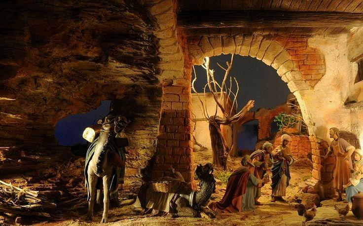 Presepio Poliscenico Permanente (Permanent Crib) - Cupra Marittima #Christmas #presepio #crib