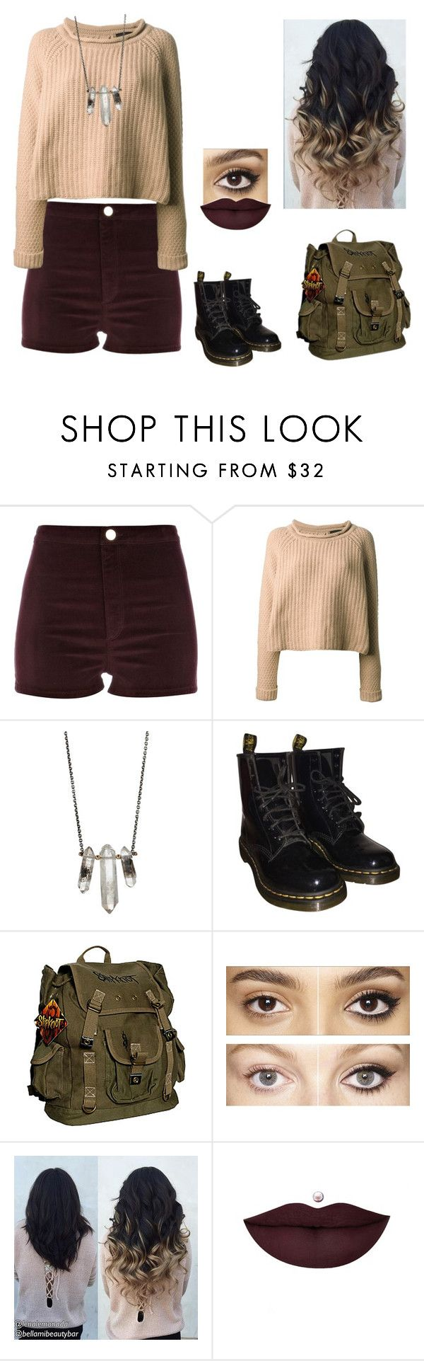 """""""Time to stop"""" by well-its-jess ❤ liked on Polyvore featuring River Island, Jo No Fui, ZoÃ« Chicco, Dr. Martens, Charlotte Tilbury and Anastasia Beverly Hills"""