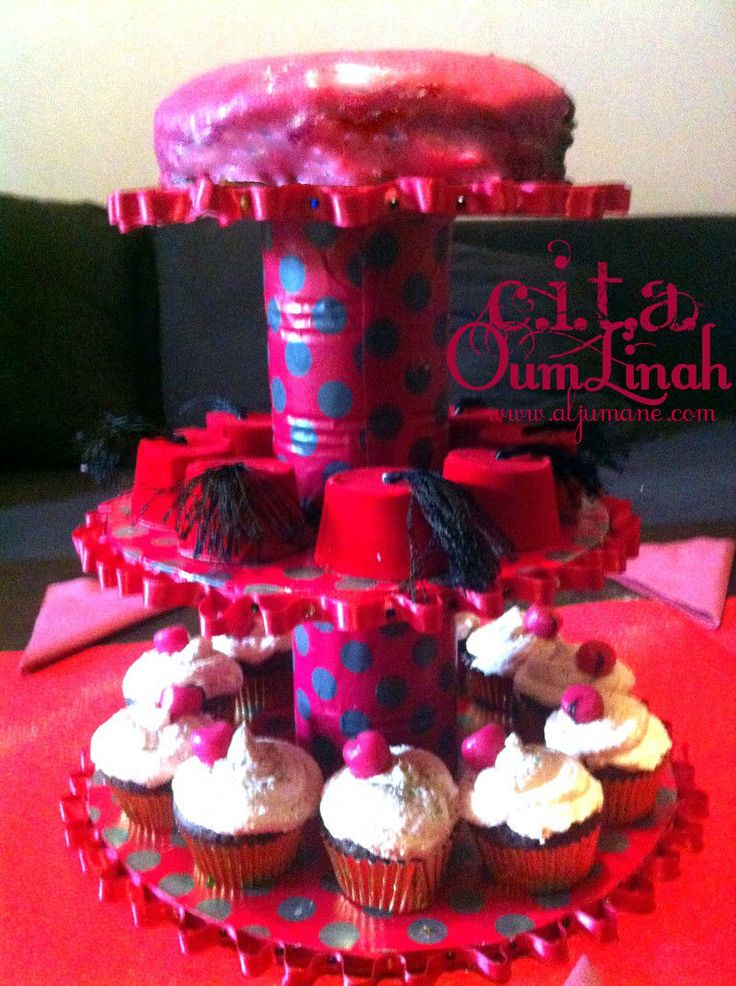 presentoire,tarbouche,gateau,cup,cake,circoncision,aqeeqah,akika,