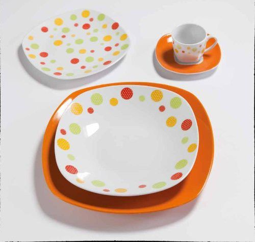 tavola 19pz clown orange