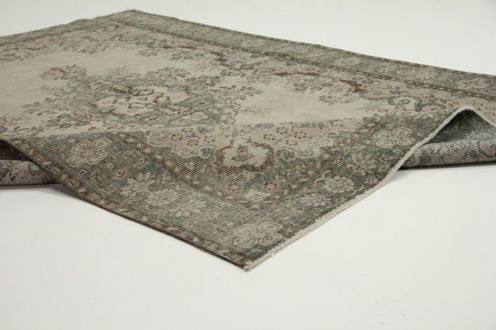 vintage vloerkleed taupe 271cm x 171cm | Rozenkelim.nl - Groot assortiment kelim tapijten