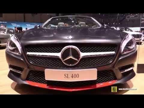 2015 Mercedes-Benz Sl-Class SL400 Mille Miglia Roadster - Walkaround - 2015 Geneva Motor Show - YouTube