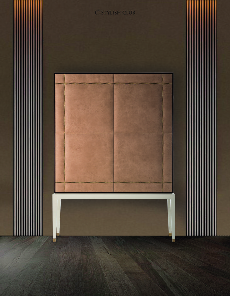 Start the week by entering the world of stylish details and luxury. We think that modern cabinets are one of the most important steps in a room decoration.  Creating a smart storage could be not easy: you have to find a piece that combines design with functionality. This week we will share details of the elegant Heritage cabinet.   For more, visit our website: ☛ stylishclub.pt
