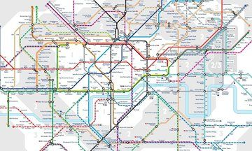 TfL's New Tube Map Reveals Walking Distances Between London Underground Stations From Zone 1-3 | The Huffington Post
