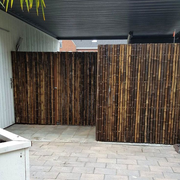 Zwart Bamboescherm Trendline 180 x 180 cm in 2020 (met