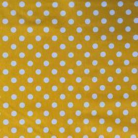 Krestoffer.dk - Bomuld - Bomuldsjersey med prikker, gul - til delfinrapport