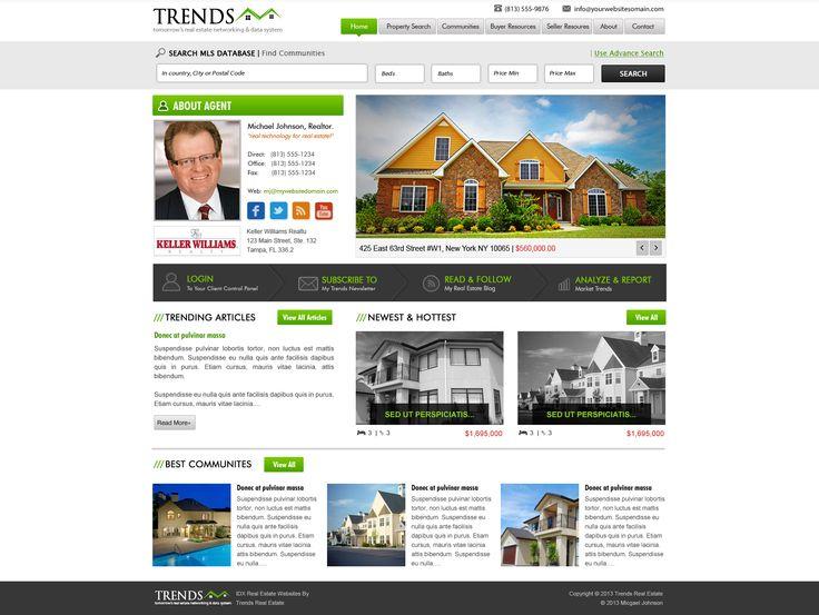 website design for realtors