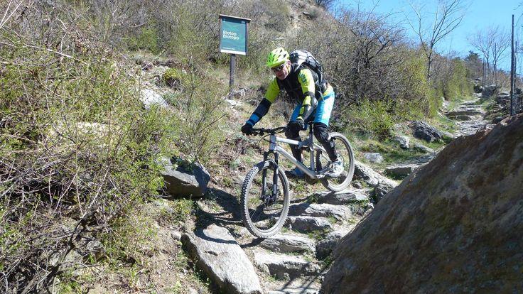 Die ersten Mountainbiker sind unterwegs
