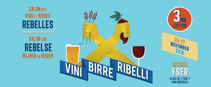 A novembre a Bruxelles la terza edizione di Vini, Birre, Ribelli - Le Strade della Birra, il magazine sul mondo della birra artigianale in Italia