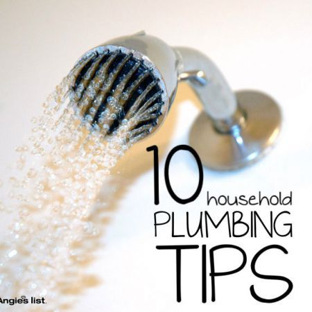GREAT tips for common household plumbing issues!