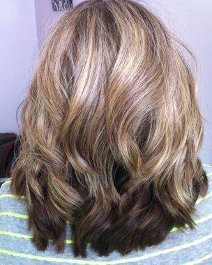 Another option is a demi-permanent translucent color like Shades EQ that will blend your grays into your color without totally masking them. Description from howtohairgirl.com. I searched for this on bing.com/images