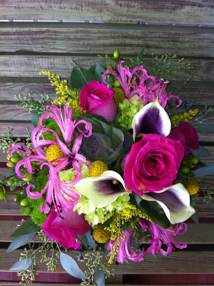 Brides Maids Bouquet--Mine!