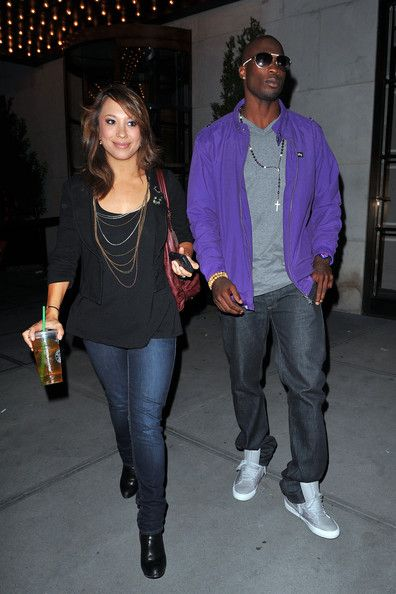 Cheryl Burke Photos: Chad Ochocinco and Cheryl Burke Leave Their Hotel