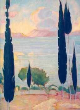 #Parthenis Konstantinos #greece #painting