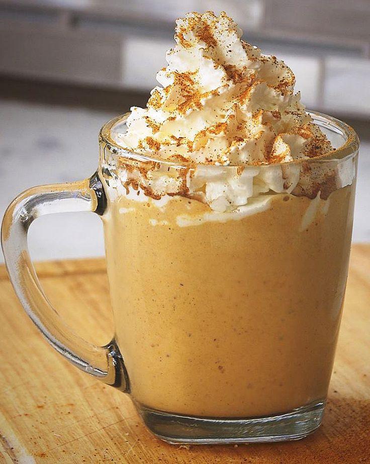 Pumpkin Spice Latte Milkshake